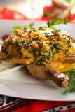 Delicious oven chicken Royalty Free Stock Photos