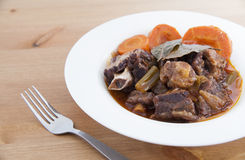 Delicious Oxtail Stew Royalty Free Stock Photo