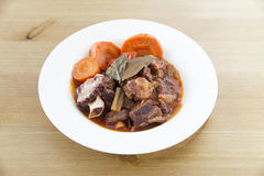 Delicious Oxtail Stew Stock Photo