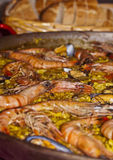 Delicious paella Royalty Free Stock Photo