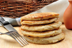 delicious pancake made for pancake day Stock Photography