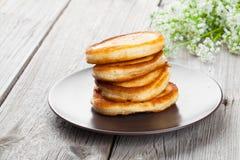 Delicious pancakes Royalty Free Stock Photos