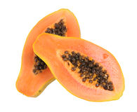 Delicious papaya Royalty Free Stock Images