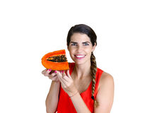 Delicious Papaya Stock Image