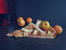 Delicious paradise apple pie Royalty Free Stock Photography