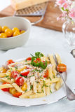Delicious pasta dish Royalty Free Stock Images