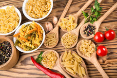 Delicious pasta Stock Photos