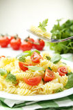 Delicious pasta Stock Photography