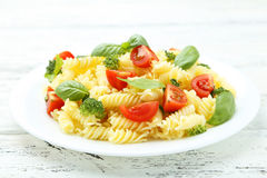 Delicious pasta Stock Images