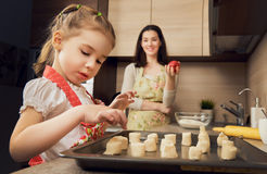 Delicious pastries Stock Photos