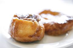 Delicious Pastries on a white plate - 01 stock photography