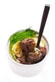 Delicious pate Stock Photo