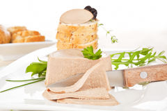 Delicious pate. Royalty Free Stock Photography