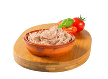 Delicious pate Stock Images