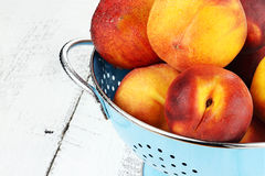 Delicious Peaches Royalty Free Stock Photos