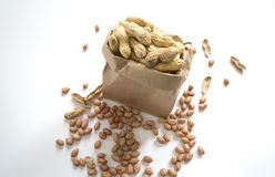 Delicious peanuts Royalty Free Stock Photos