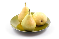 Delicious pears Royalty Free Stock Photography