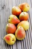 Delicious pears Stock Photos
