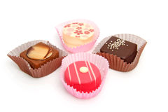 Delicious petit four Royalty Free Stock Photo