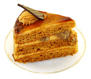 Delicious piece of cake Royalty Free Stock Images