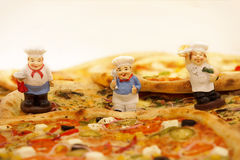 Delicious pizza. Royalty Free Stock Photography
