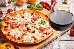 Delicious pizza Stock Photos