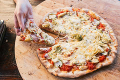 Delicious pizza Royalty Free Stock Images