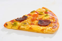 Delicious pizza with natural ingredients Royalty Free Stock Images