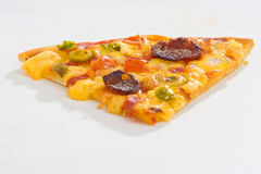 Delicious pizza with natural ingredients Royalty Free Stock Image