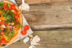 Delicious pizza Royalty Free Stock Photo