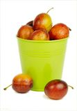 Delicious plums Royalty Free Stock Images