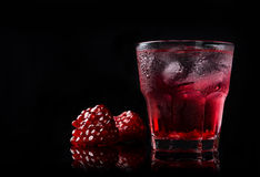 Delicious pomegranate cocktail Royalty Free Stock Photos