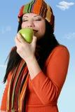 Delicious pomme image libre de droits
