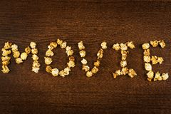 Delicious popcorn Royalty Free Stock Photos