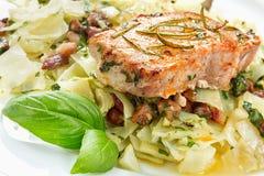 Delicious pork chop stock images