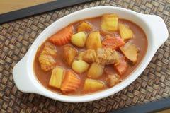 Delicious pork curry Stock Photography
