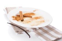 Delicious porridge breakfast. Stock Photos