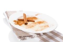 Delicious porridge breakfast. Stock Photo