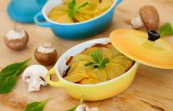 Delicious potato gratin Royalty Free Stock Images