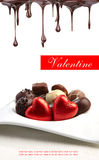 Delicious pralines - sweet food Stock Images