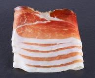 Delicious prosciutto Stock Photo
