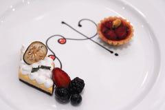 Delicious Pudding creme caramel Stock Image