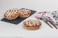 Delicious and  puff pastries Royalty Free Stock Photography