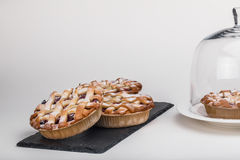Delicious and  puff pastries Royalty Free Stock Photo