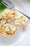 Delicious quiche Royalty Free Stock Images