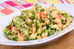 Delicious quinoa salad Royalty Free Stock Photography