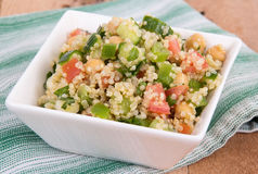 Delicious quinoa salad Royalty Free Stock Photos