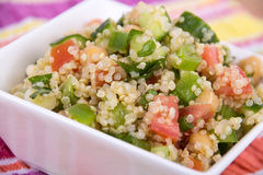 Delicious quinoa salad Royalty Free Stock Images