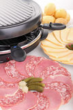 Delicious raclette Royalty Free Stock Photos