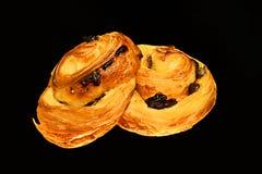 Delicious raisin bread Stock Image